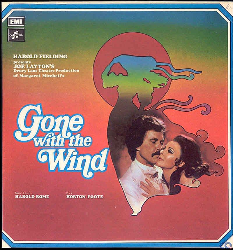 Gone with the Wind LP Cover