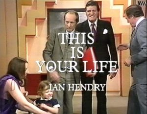 Ian Hendry This is your life Title Card