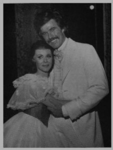 June Ritchie and Harve Presnell in GONE WITH THE WIND