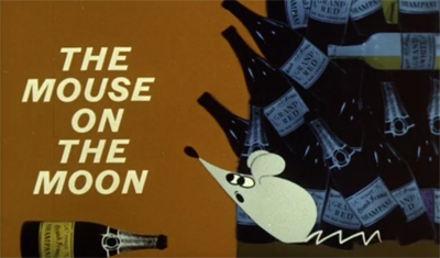 The Mouse on the Moon Title Card