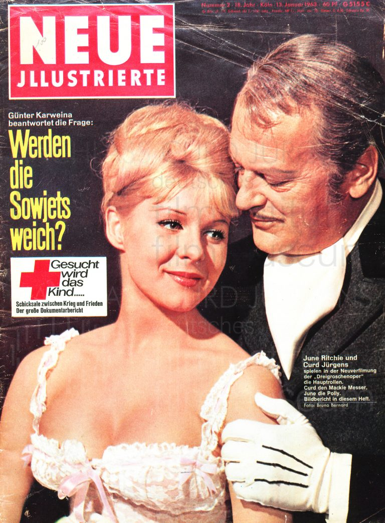 Cover image from Neue Illustrierte, 1963